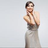 Fashion woman portrait. Beautiful model. Studio Royalty Free Stock Image