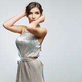 Fashion woman portrait. Female young model. Studio Royalty Free Stock Photo