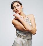 Fashion woman portrait. Female young model. Stock Photos