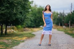 Fashion woman portrait of young pretty trendy girl with beautifu stock images