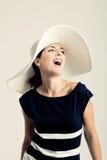 Fashion woman posing Stock Image