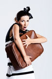 Fashion woman posing Royalty Free Stock Image