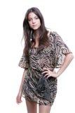 Fashion woman is posing Royalty Free Stock Image