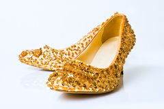 Fashion woman shoe Royalty Free Stock Image