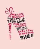 Fashion Woman shoe Royalty Free Stock Image
