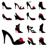 Fashion woman shoes Royalty Free Stock Photo