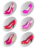 Fashion woman shoes Royalty Free Stock Images