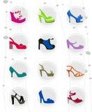 Fashion woman shoes Stock Photo