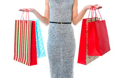 Fashion woman, shopping concept Stock Image