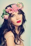 Fashion Woman. Spa Beauty Stock Image