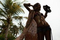 Fashion Woman Stylish Boho Royalty Free Stock Photos