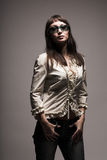 Fashion woman in sunglasses Royalty Free Stock Photography