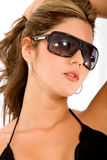 Fashion woman with sunglasses Royalty Free Stock Photo