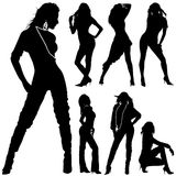 Fashion woman vector Royalty Free Stock Images