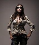 Fashion woman wearing sunglasses Royalty Free Stock Photo
