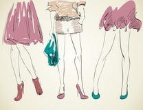 Fashion womans. Stock Photos