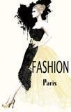 Fashion women defile. Vector illustration vector illustration