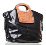 Fashion women handbag  over white Royalty Free Stock Images