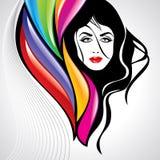 Fashion women illustration in glamourus style Stock Photo
