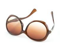 Fashion women sepia sun glasses Royalty Free Stock Photo