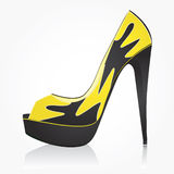 Fashion women shoe Stock Images