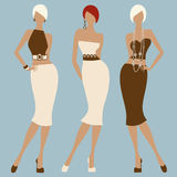 Fashion women Royalty Free Stock Image
