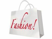Fashion Word Shopping Bag Style Store Royalty Free Stock Photos