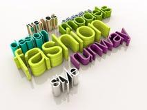 Fashion world Stock Image