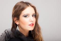 Fashion young beautiful woman portrait Royalty Free Stock Photo