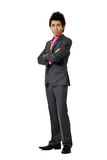 Fashion young business man Stock Photo