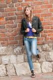 Fashion young girl Stock Image
