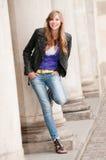 Fashion young girl Stock Photo