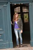 Fashion young girl Stock Photos