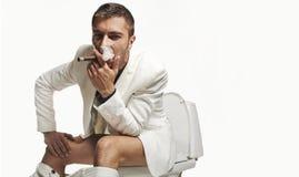 Fashion young man Stock Image