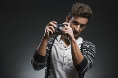 Fashion young man Stock Image
