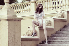 Fashion young woman Royalty Free Stock Photo