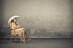 Fashion young woman Stock Image