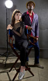 Fashionable Actors Royalty Free Stock Photos