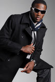 Fashionable African Amer Male Royalty Free Stock Photos