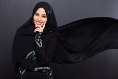 Fashionable Arabian woman Royalty Free Stock Photos