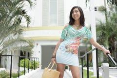 Fashionable Asian female Royalty Free Stock Photos