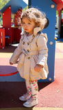 Fashionable baby girl Stock Image