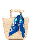Fashionable Beach Tote Stock Photos