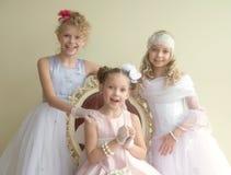 Fashionable beauties Royalty Free Stock Image