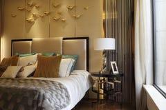 Fashionable bedroom Royalty Free Stock Photo