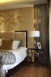 Fashionable bedroom Stock Photography