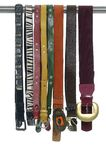Fashionable belts Stock Photos