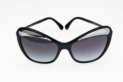 Fashionable black sunglasses Royalty Free Stock Photos