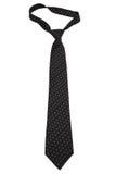 Fashionable black tie Stock Photos