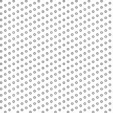 Fashionable black and white simple geometric shapes. Seamless pattern. Vector Illustration. EPS10 royalty free illustration